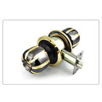 STAINLESS STEEL WOOD DOOR LOCK METAL DOOR LOCK WITH 3PCS BRASS KEY