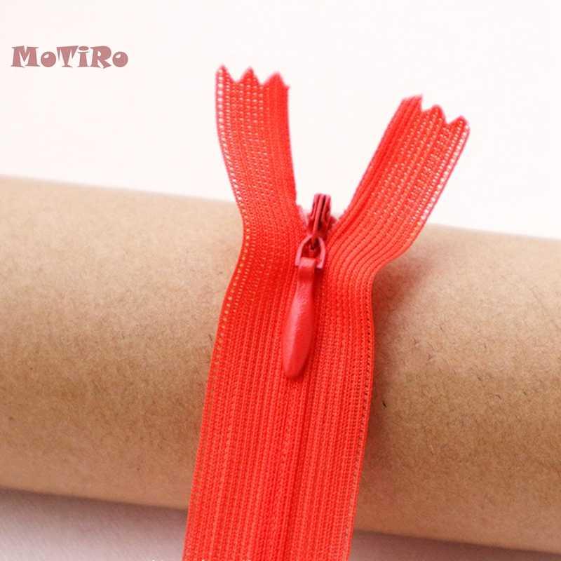 MoTiRo, 25 см, нейлон невидимая молния, на цветной молнии, аксессуары для ручной DIY/Швейные штаны/одежда/Подушка/сумки/Обувь/Одежда