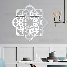 Mirror Wall Stickers Sticker Room Decoration Home Decor For Bedroom Decorative Vinyl Kids House Flower Petals Ring Round R172 mirror wall stickers sticker room decoration home decor kids for bedroom variety fonts name letters alphabet customizable r242
