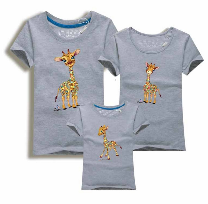 Giraffe Family T-Shirts