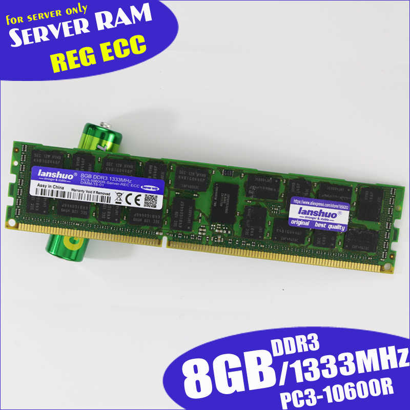 オリジナル 8 ギガバイト DDR3 1333MHz 1600Mhz 1866Mhz 8 グラム 1333 1600 1866 REG ecc サーバーメモリ ram 16 ギガバイト 16 グラム 32 ギガバイト 32 グラム x58 x79 2011 4 ギガバイト 4 グラム ECC