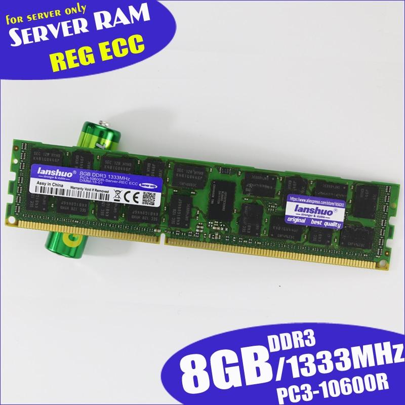 Memory-Ram Server REG 1333 1866 1600mhz 8gb Ddr3 ECC 16GB 4GB 32GB X58x79 Original