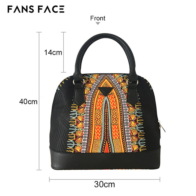 FANS FACE Luxury Handbags Women Bags Designer Traditional African Style High Quality African Fabric Dress Accessories 2