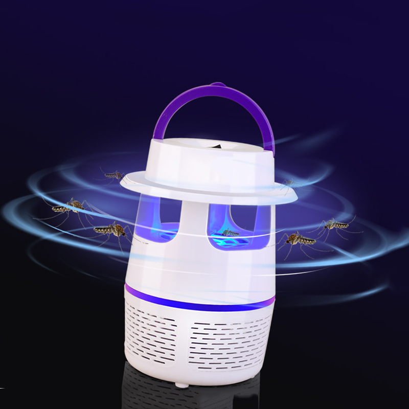 USB Household Radiationless LED Mosquito Killer Lamp Mute Anti Mosquito Dispeller Insect Killer household photocatalyst led mute usb mosquito killer