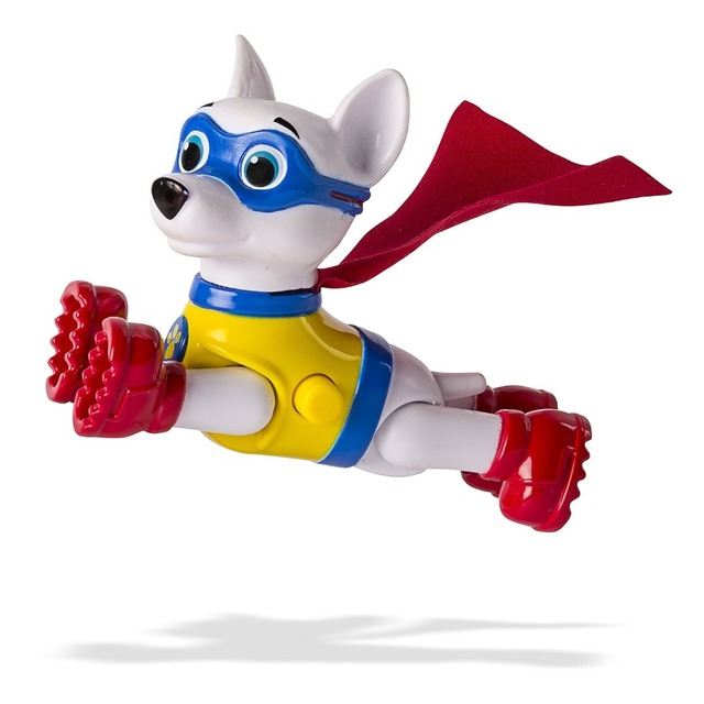 Us 7 97 43 Off 1pc Genuine Paw Patrol Paw Patrol Apollo The Super Pup Chase Marshall Rocky Rubble Skye Zuma New With Package In Action Toy Figures