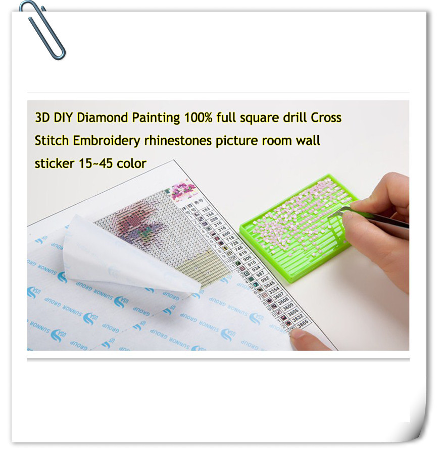 DIY Diamond Painting Stickers Decorative Painting Rhinestone Mosaic 3D 5D Cross Stitch Diamond pattern Diamond embroidery birds