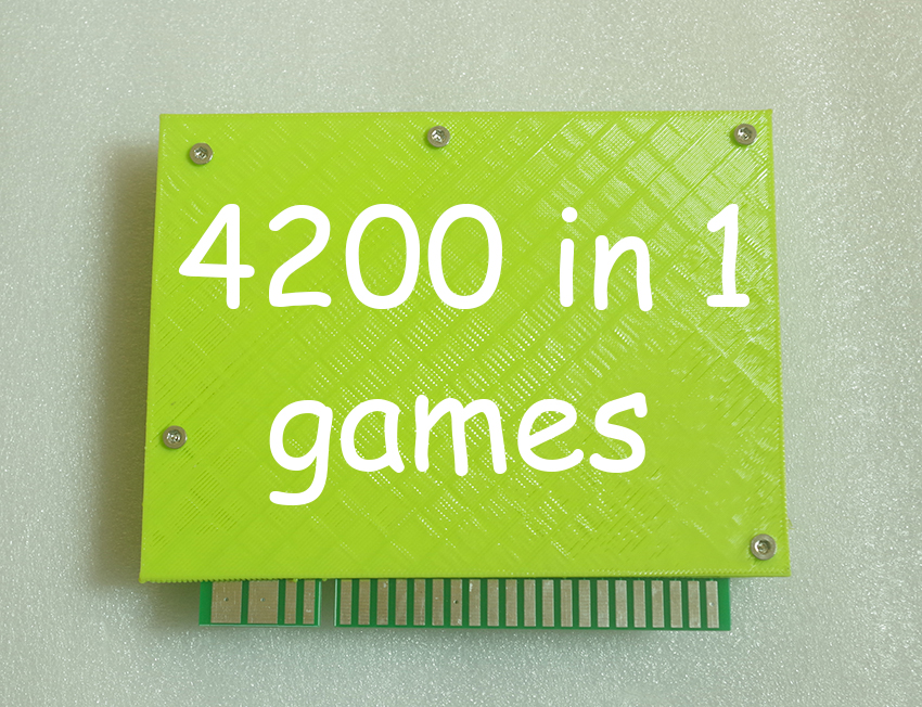 4200 in 1 TITAN BOX PCB board Arcade cartridge jamma Multi game board WITH VGA OUTPUT  Support save game progress  RUN 3D GAMES pandora box 4s new arrival 680 in 1 jamma arcade game cartridge jamma multi game board with vga and hdmi output