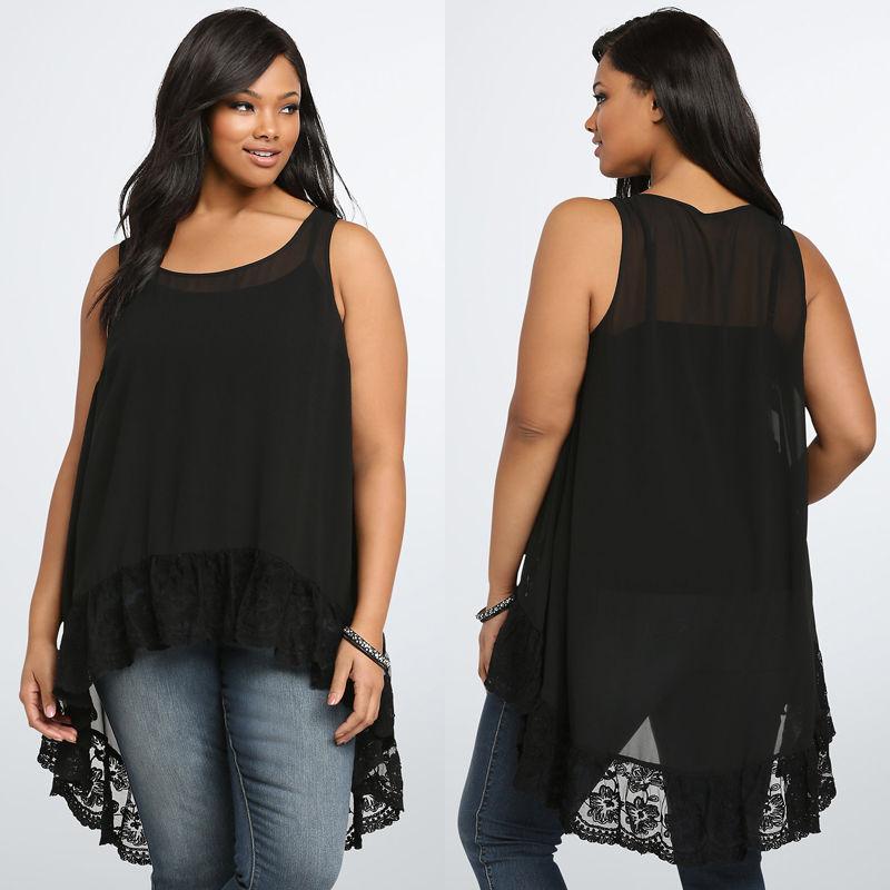 0de4e8e6936 Новый Для женщин рубашка жилет Топ рубашка без рукавов Лето Повседневное  шифон свободные топ