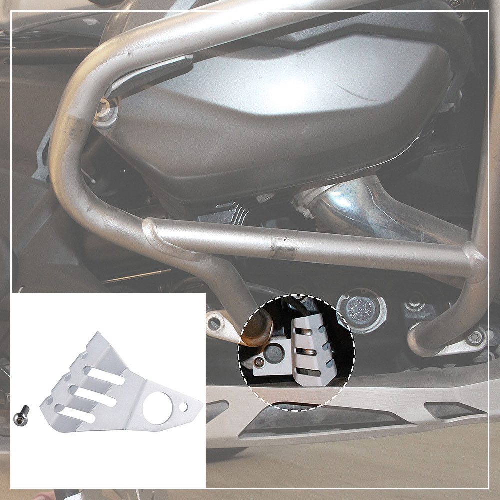 Left Right Front Sensor Protector Guard Cover for 2013-2017 BMW R NINE T R1200GS LC ADV 2014 2015 2016 kemimoto for bmw motorcycle front brake caliper cover protection cover guard for bmw r nine t 2014 2017 r1200gs lc 2013 2015
