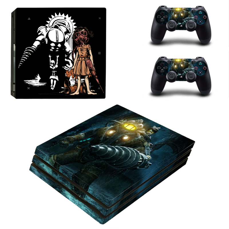 Japan Amine Decal PS4 PRO Skin Sticker Vinyl Decal PS4P Console and Controller Stickers for Sony Playstation 4 PRO