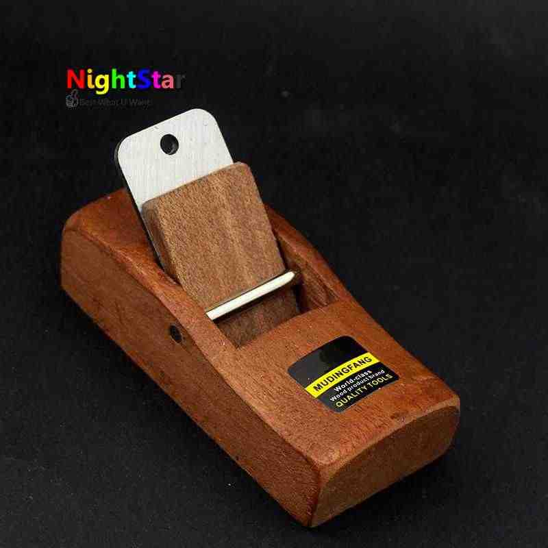 DIY Flat Plane Bottom Edged Handle Tools Woodworking Handle Wood Planer 108mm