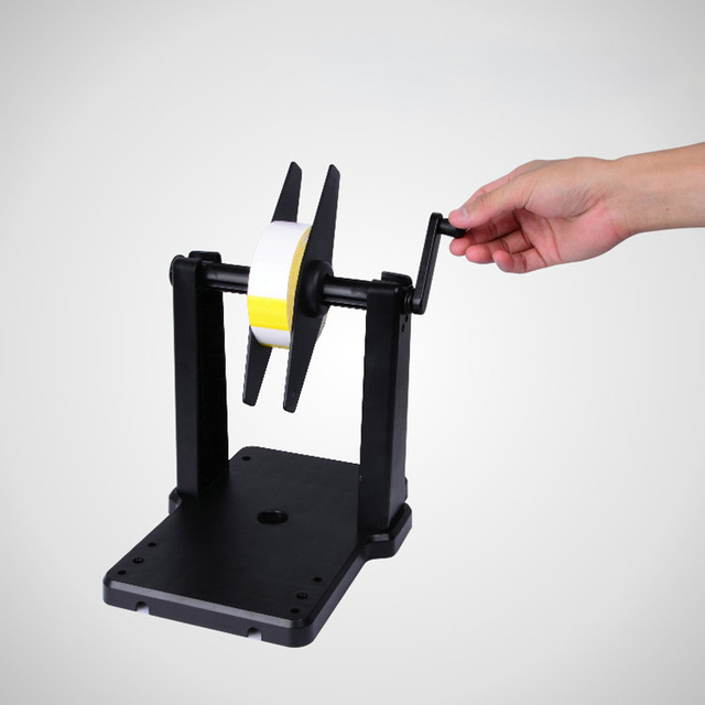 New Manual Operation Label Rollback Rewinder For Argox TSC Godex Zebra and other Printers,Barcode Printer Paper Stent