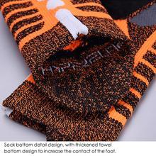 2 шт. гольфы для баскетбола носки для полотенец нескользящие спортивные носки дышащие утолщенные дезодорирующие теннисные носки