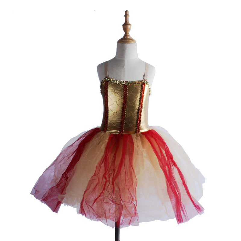 Ballerine Tutu Skirt  Girls Summer Dress Women Cute Swan Lake Dresses Adult Ballet Costume Justaucorps De Danse Pour Les Femmes