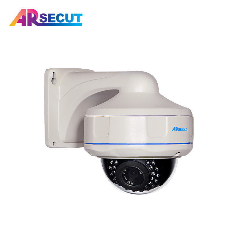 ARSECUT Dome HD POE 1080P IP Camera Outdoor With POE Dome H.264 Waterproof 2MP Camera P2P Surveillance Network Security Camera free shipping poe 2 0mp onvif h 264 hd surveillance camera 22 ir pan tilt waterproof dome security ip network cctv camera 1080p