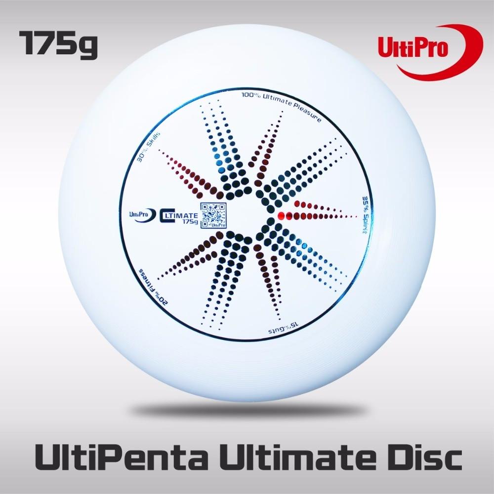 WFDF Approved 175g Professional Flying Disc UltiPro UltiPenta Ultimate Disc