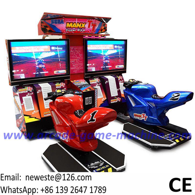 Arcade Games Simulator Super Bike Manx TT Motorbike