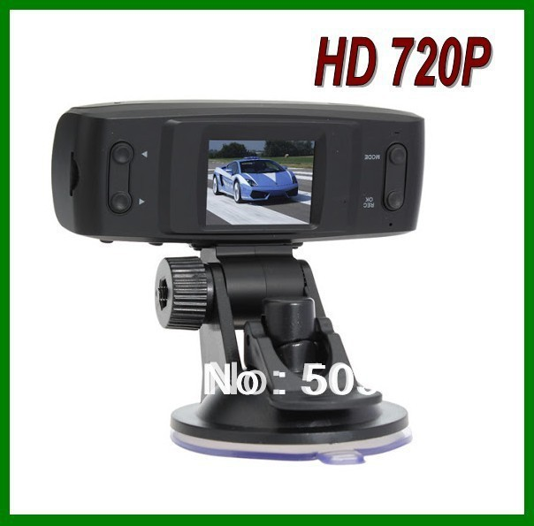 Cheapest hd 1280* 720P CAR DVR gs1000 USB2.0 4 IR LED 120 View Angle without GPS, Drop shipping!