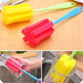 1pcs/set Baby Feed Bottle Brush Kitchen Baby safety Washing Brush Cleaning Brush Cleaner Kitchen Cleaning Tools Accessories
