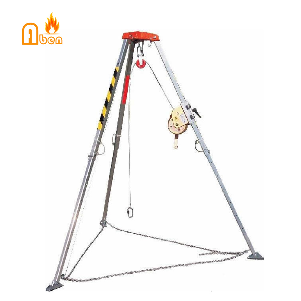 High Quanlity Fire fighting equipments Rescue Camp tripod