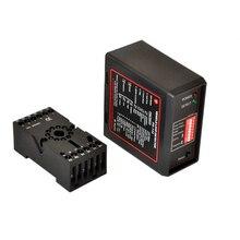 230v/110v/24v/12v parking and traffic access controller Single Channel induction Loop Detector For Car Parking System