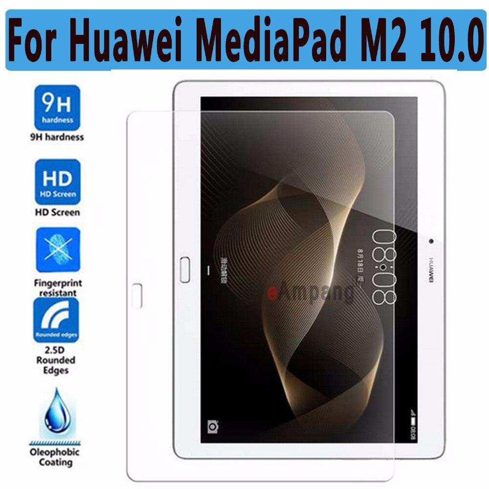 Vidrio templado ultra delgado HD a prueba de explosiones para Huawei MediaPad M2 10.0 Protector de pantalla para Huawei MediaPad M2 10.0