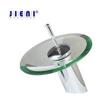 RU ванной кран стеклянный водопад кран ванной смеситель на бортике бассейна раковина смеситель Водопроводной воды смесителя