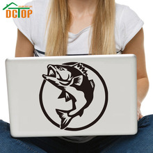 DCTOP Fishing Hunting Wall Stickers Home Decor Computer Sticker Fish Removable Vinyl Art Murals Waterproof