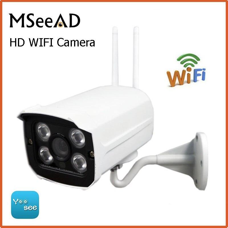 bilder für Mseead Yoosee Ip-kamera Wifi 960 P 720 P ONVIF Drahtlose Verdrahtete P2P CCTV Kugel Outdoor-kamera Mit SD Kartensteckplatz Max 64G