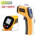 Infrared Thermometer Digital Laser Temperature Gun Pyrometer Aquarium Emissivity Adjustable GM550 -50~550 C GM320 -50-400