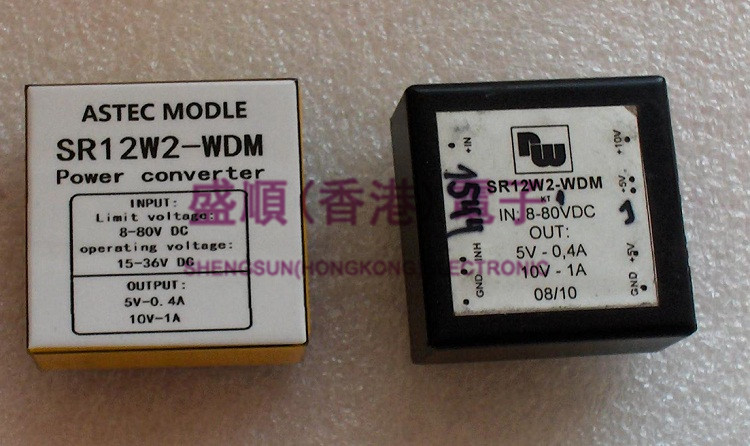 SR12W2-WDM  Three One Excavator German Instrument DC/DC Power Module