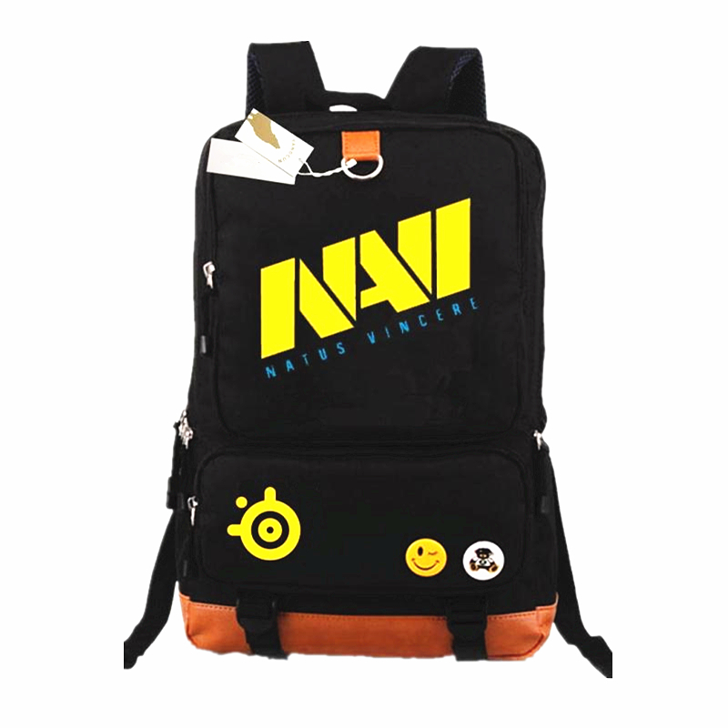 GAME Team NAVI DOTA 2 CSGO Backpack School Bags Mochilas Teenagers Men Women's Backpacs Travel Shoulder Bag Laptop Bags