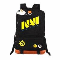 GAME Team NAVI DOTA 2 CSGO Backpack School Bags Mochilas Teenagers Men women's Backpacs travel Shoulder Bag Laptop Bags