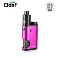 Originele Eleaf Pico Squeeze Kit met Coral RDA Verstuiver Rode Kleur 50 W Clapton Coils 6.5 ml Bodem-fed fles Verkoop e-sigaret