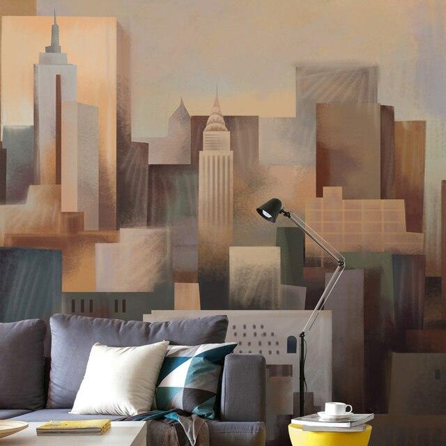 New York City Wallpaper for walls Custom 3D Building Wall Mural ...