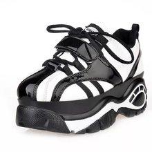 COOTELILI ГОРЯЧИЙ Новый Sapato Femininos Бренд Случайные Женщины Туфли На Платформе Женщина на Плоской Подошве Женщина Zapatos Mujer