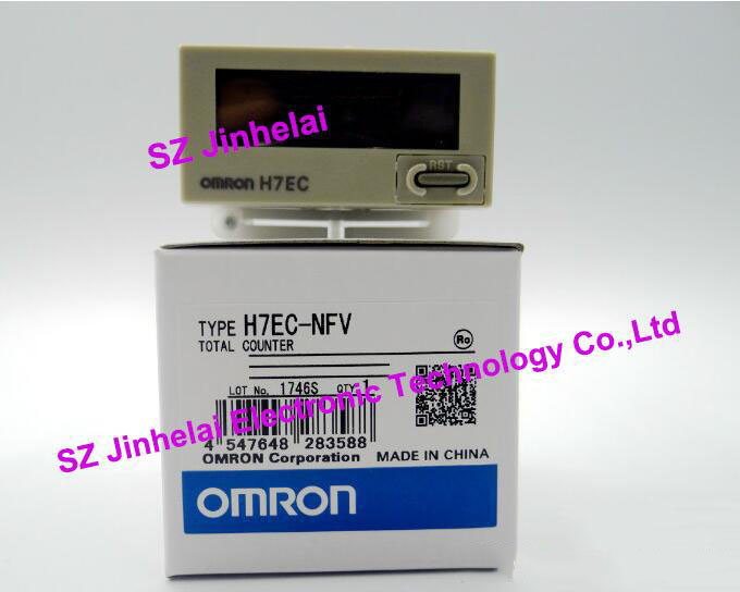 H7EC-NFV New and original OMRON Time relay TIME COUNTER [zob] supply of new original omron electronic counter h7ec nv voltage output 2pcs lot relay