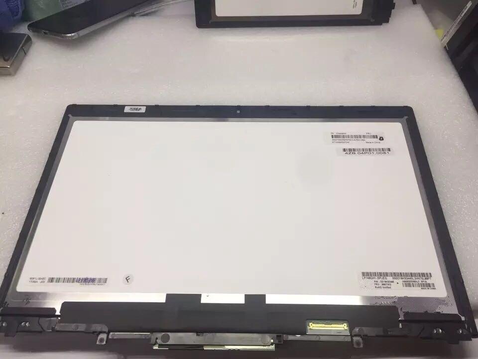 LCD Écran Tactile Digitizer Assemblée Avec Lunette Pour Lenovo ThinkPad X1 Yoga (1st 2nd 3rd Gen) 20FQ 20JD 20JF 20LD 20LF