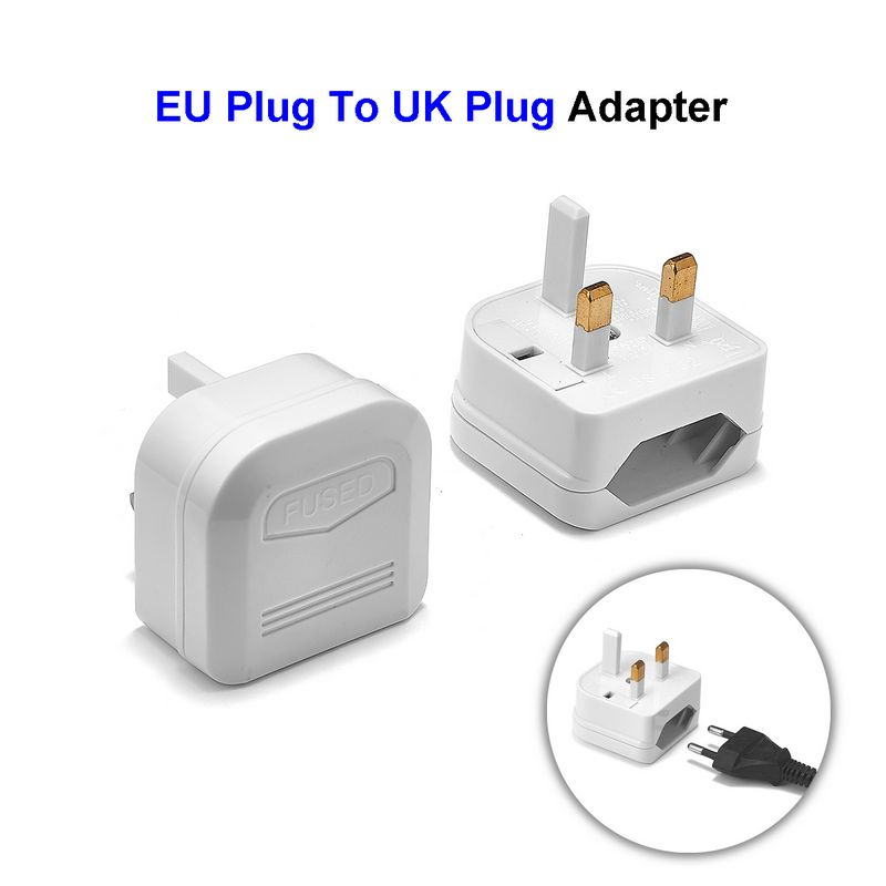 Suitable for use as a UK BS1363 PC Computer Monitor or Printer Power Cord. ACP1011 BS1363 UK Standard Fused Plug to IEC C13 6 Foot Power Cord with 6 Country certifications