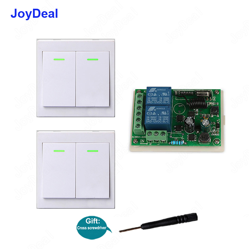 Wireless Remote Switch AC 110V//120V//240V// Relay RF Control Light Switches For Pu