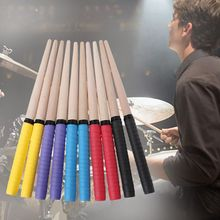 1pair Hand Glue Wooden Drum Sticks Percussion Instruments Accessories Drumsticks