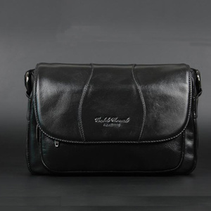 Image 4 - GOLD CORAL Women Handbag Genuine Leather Bags Female Messenger Bag Vintage Ladies Crossbody Shoulder Bags Sac a main 2018 New