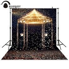 Allenjoy Photography Backdrop Star wedding romantic aesthetic fireworks castle background photocall photobooth Photo studio