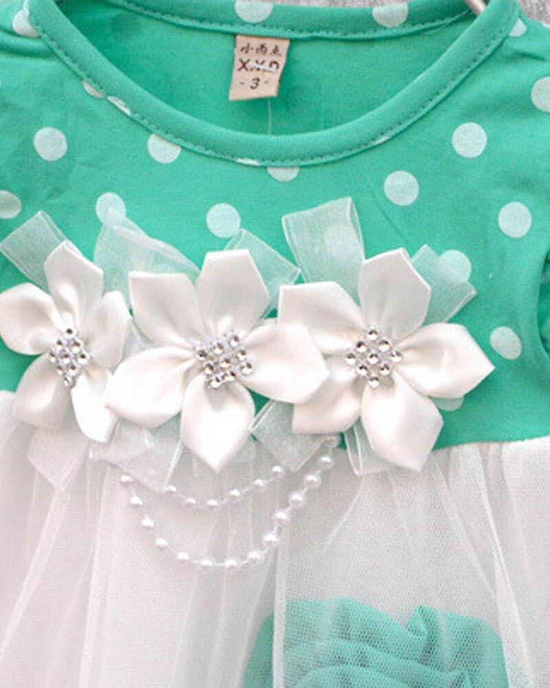 COCKCON-Cute-Summer-Children-Clothing-Ball-Gown-Kids-Baby-Girls-Polka-Dots-Tutu-Dresses-4-Colors-5