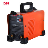 Stick ARC DC IGBT Welding Machine Electrorod Earth Clamp  MMA ARC-225 AC 220v Welder Inverter  Machines Free Shipping