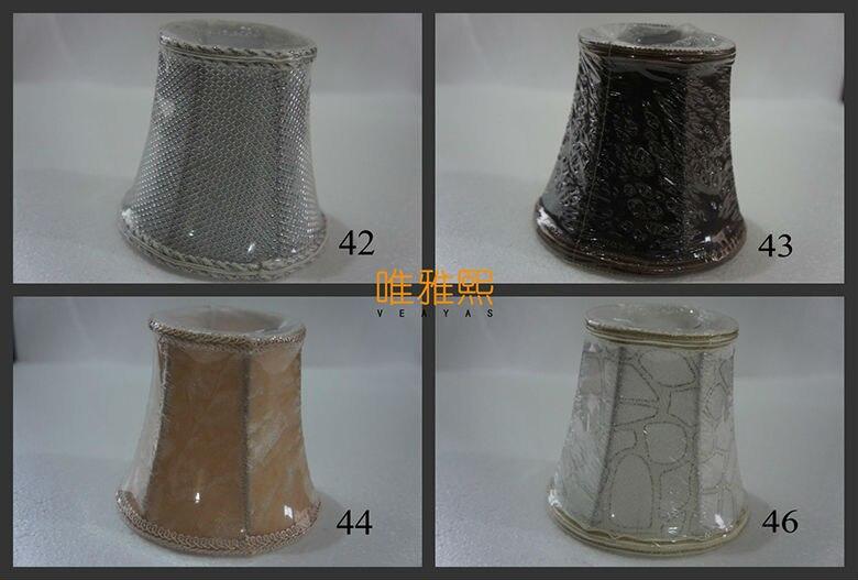 Mini Lampenschirme Für Kronleuchter ~ Mini lampenschirm kronleuchter lampenabdeckungen bunte wand