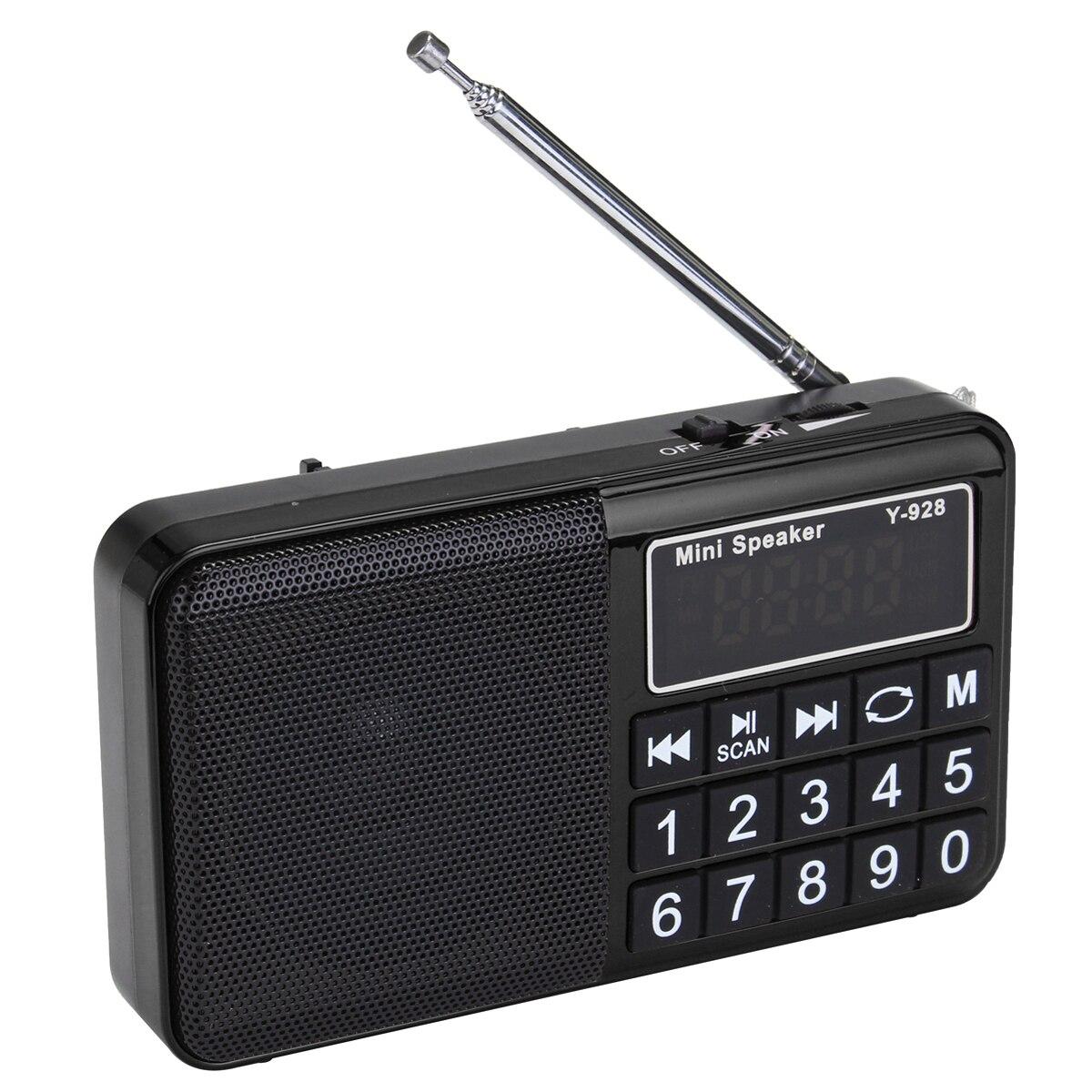 Tragbares Audio & Video Kinco Tragbare Für Tasche Digitale Am Fm Radio Empfänger Lautsprecher Micro Sd Tf Mp3 Player Mit Licht Und Akku