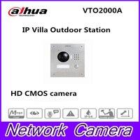 DH VTO2000A Металл видео телефон двери Suppport POE P2P функция IP вилла Открытый станции