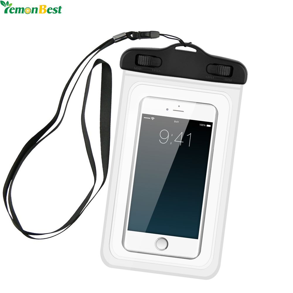 Waterproof pouch mobile phone storage box bags full touch for Telephone portable a touches