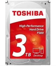 Toshiba HDD 3TB Sata3 Desktop 7200rpm HDD Drevo PC Hard Drive font b Internal b font